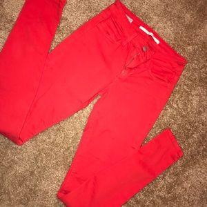 Red Joe Jeans.